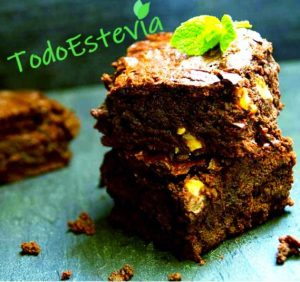 Brownie de chocolate: receta con estevia